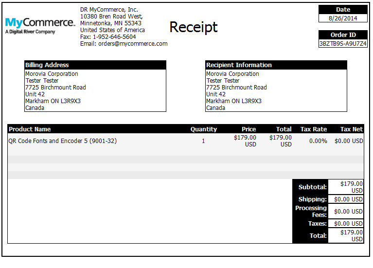 kb10012 example purchase process from mycommerce