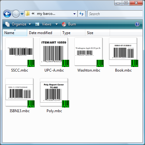 Create barcodes from this Windows application. Support all major barcode formats