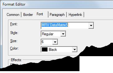 6 Adding DataMatrix to Crystal Reports - Morovia DataMatrix