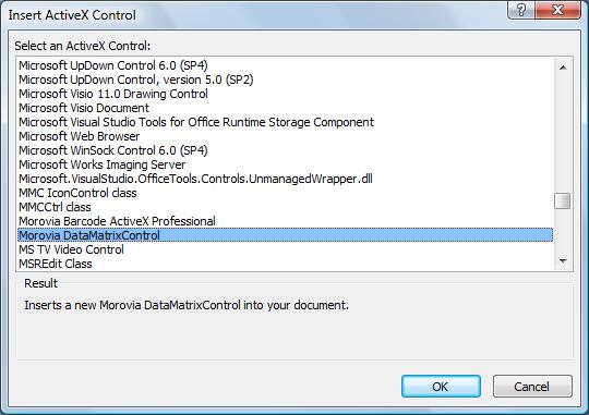 7 Adding DataMatrix to Microsoft Office Documents - Morovia