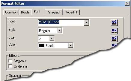 5 Adding QR Code Symbols to Crystal Reports - Morovia QRCode
